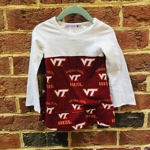 3T Sarah Lynn Togs Virginia Tech shirt/Dress